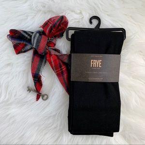 NWT Frye Black Fleece Lined Leggings M/L